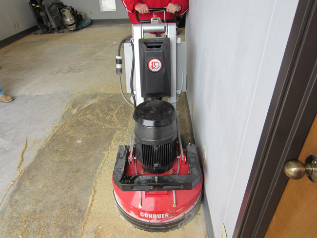 Conquer25 25 Quot Concrete Grinder And Polisher