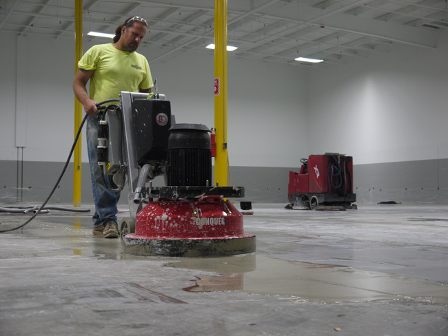 Conquer 30 30 Quot Concrete Grinder And Polisher